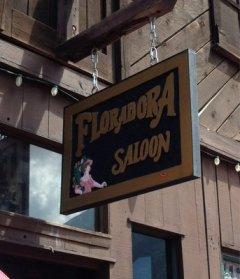 Floradora sign
